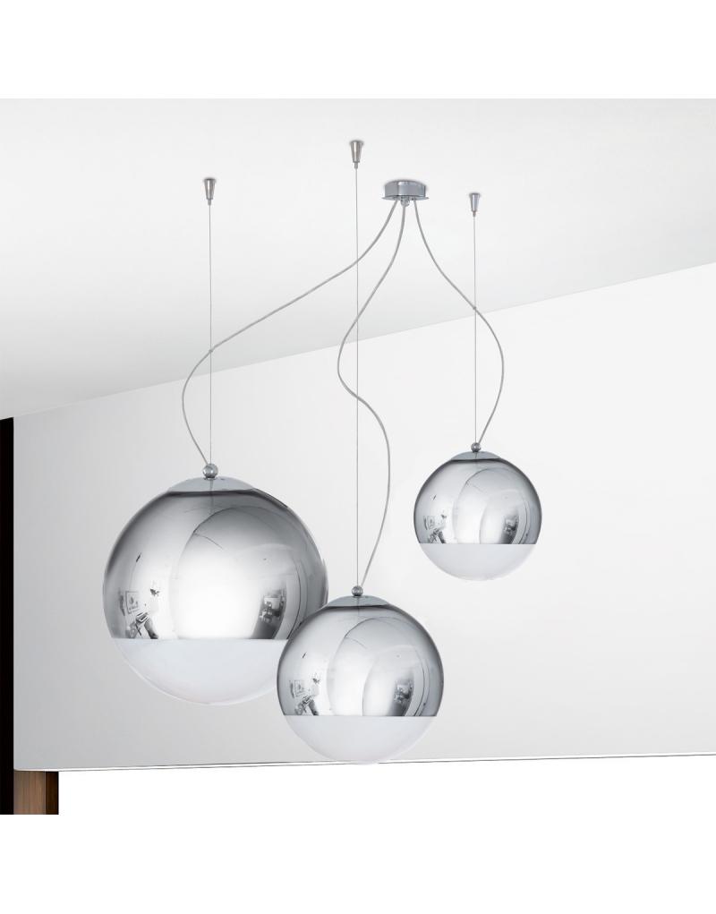 padana lampadari prezzi : BOLLA Sospensione 3 luci - LeoLightStore